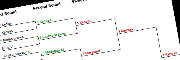 My burning bracket