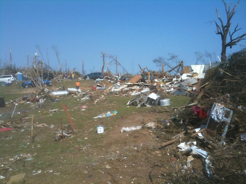 Tornado in Brookwood