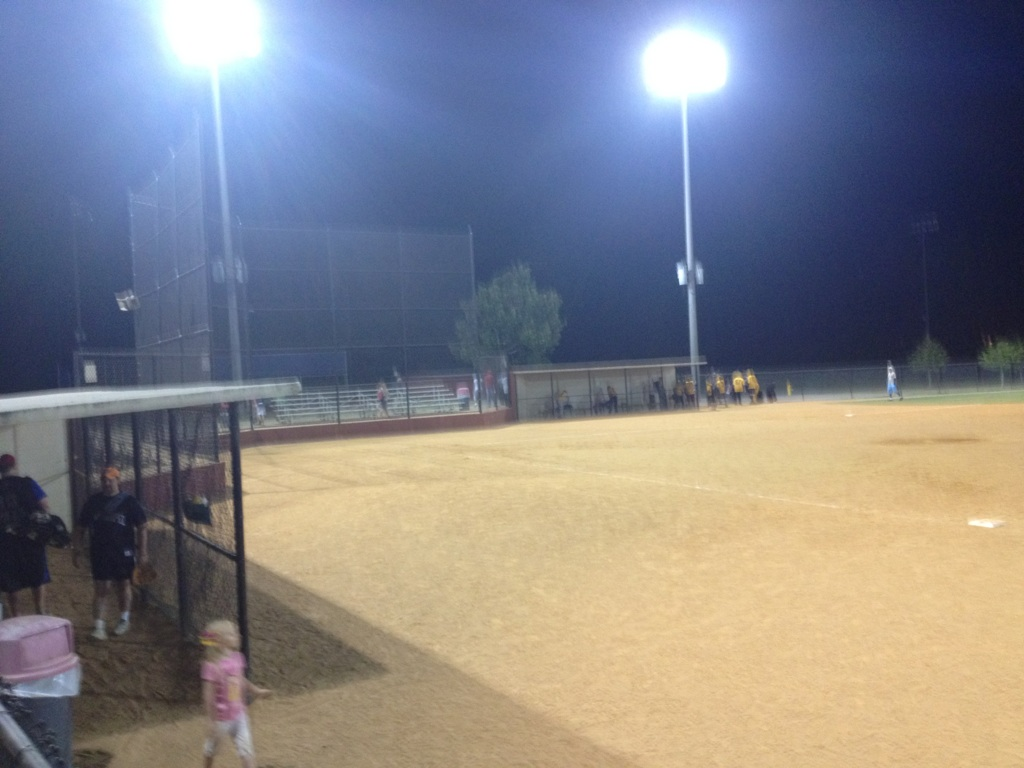 My triumphant return to softball