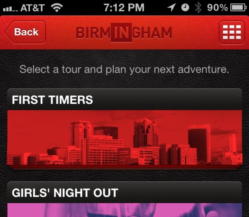 INBirmingham apps released