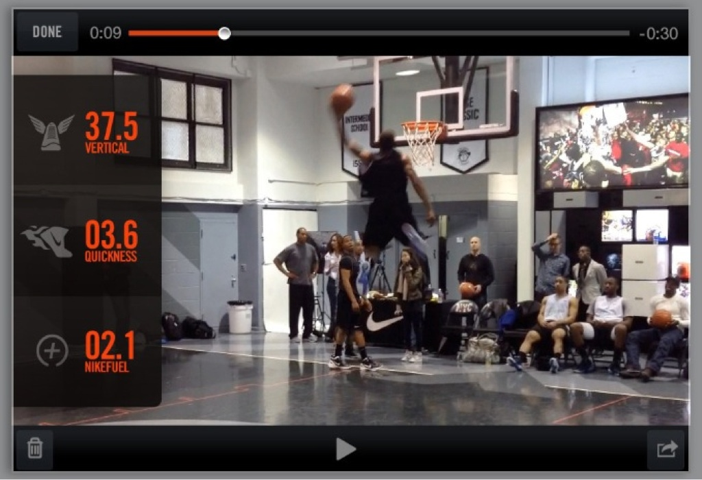 Nike+ Basketball looks very fun
