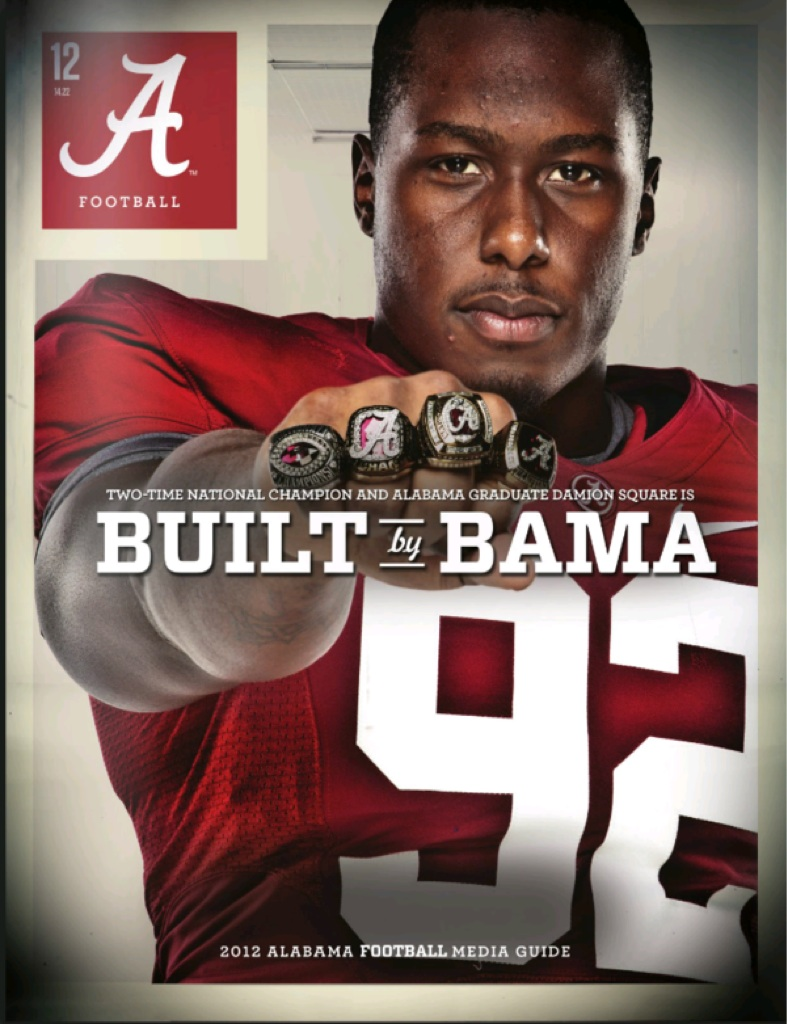 New Bama football media guide cover